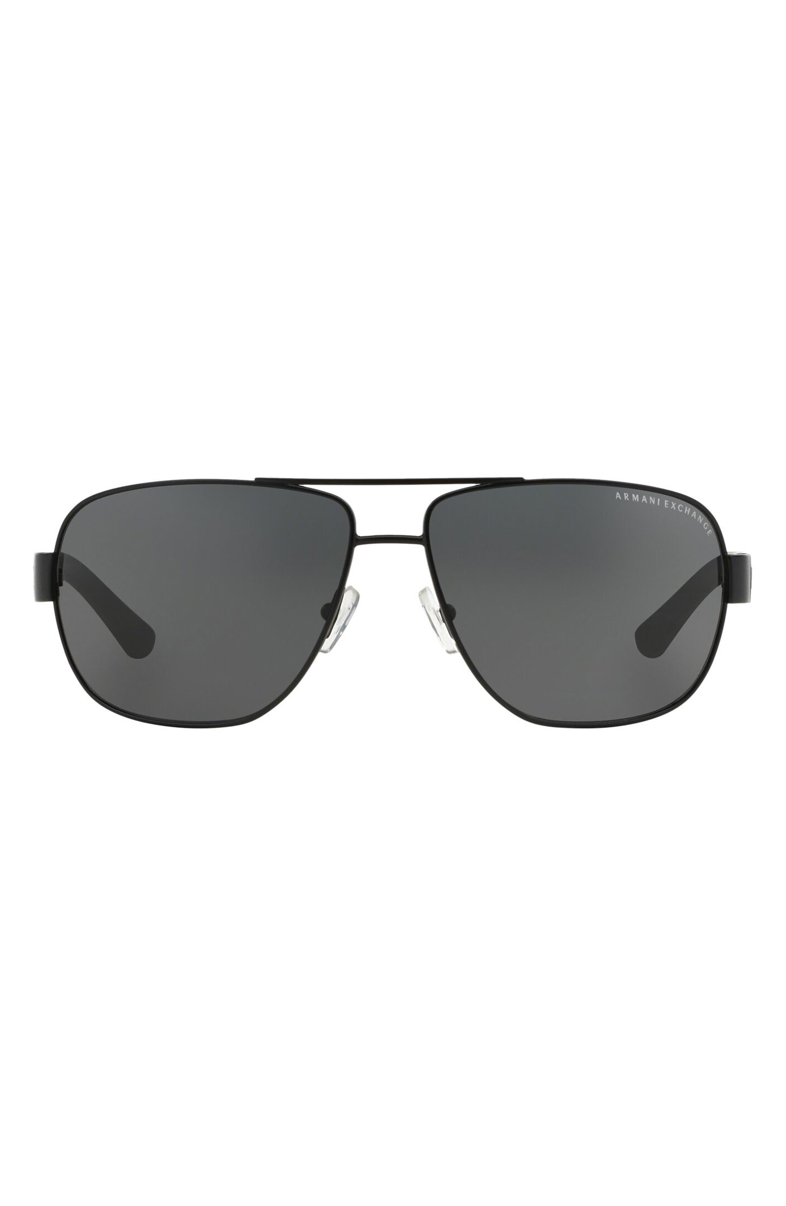 62mm Oversize Pilot Sunglasses