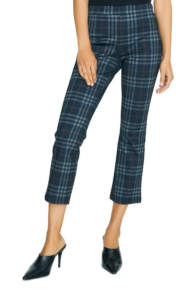 SANCTUARY Carnaby Kick Crop Trousers, Main, color, 011