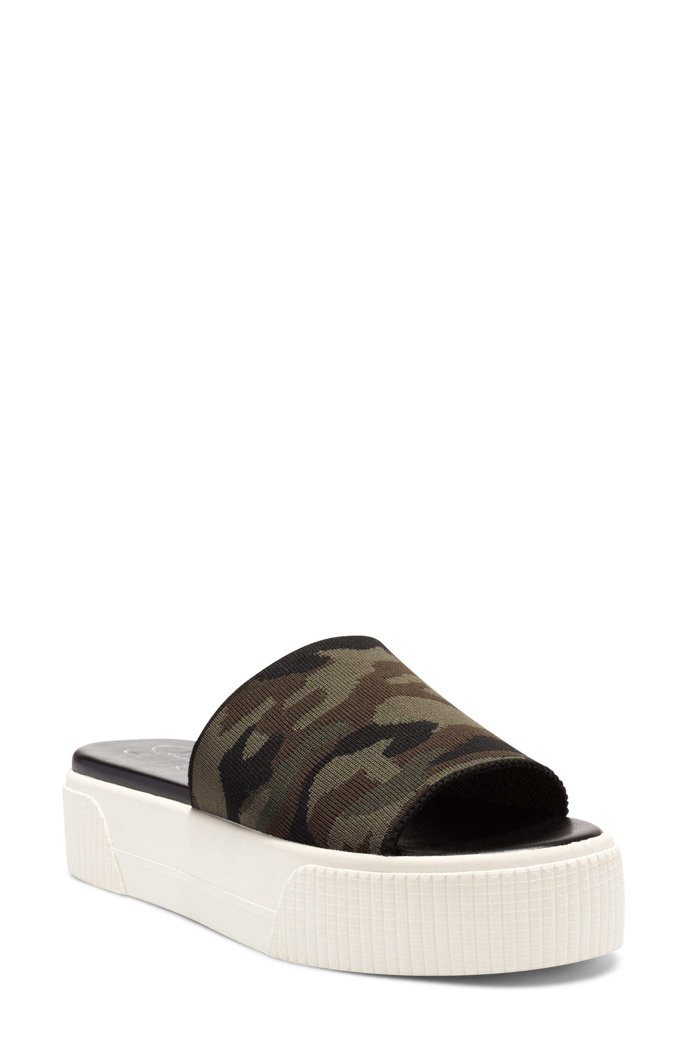 Ezira Platform Slide Sandal