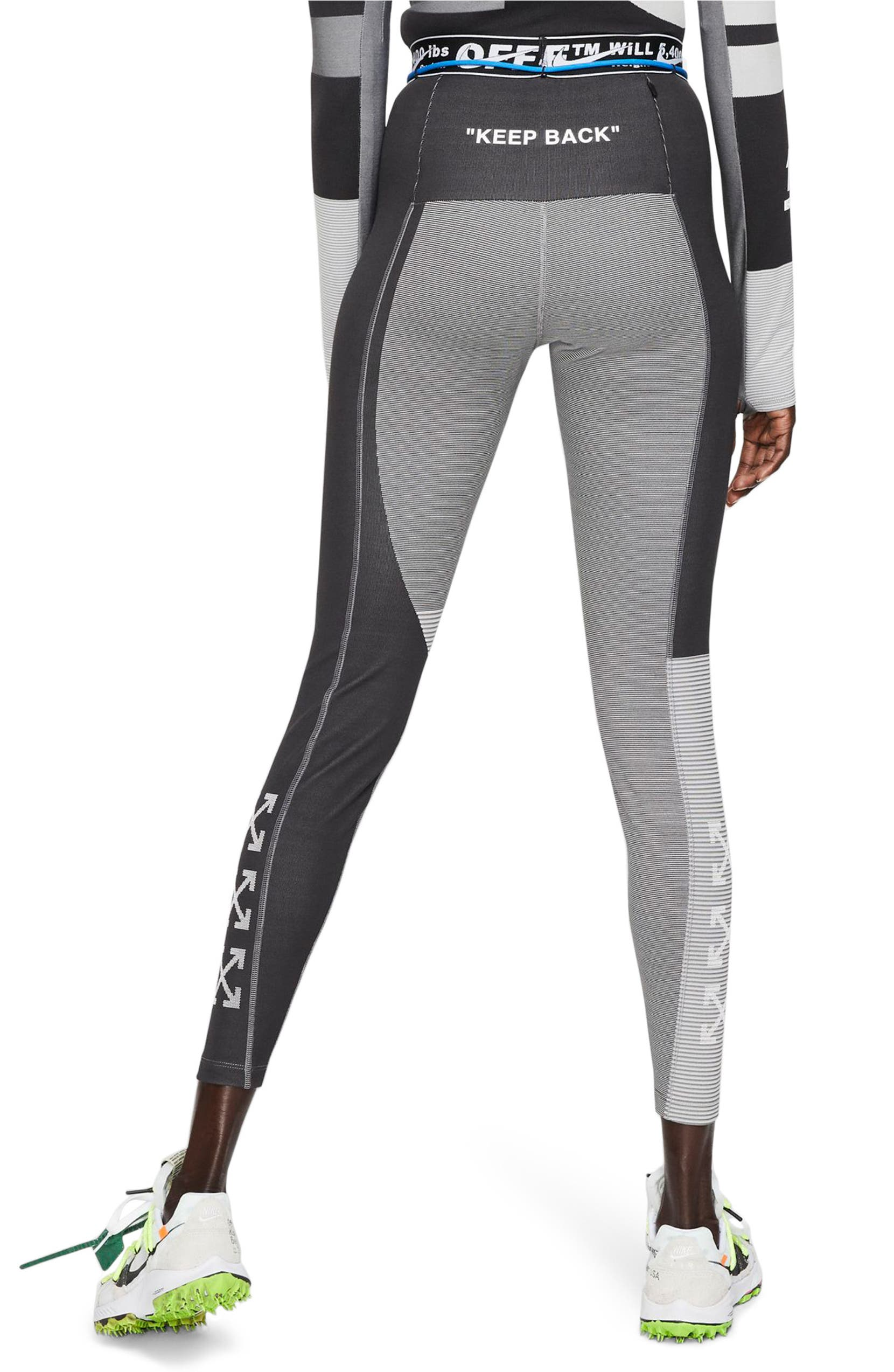 876fa7546 x Off-White Dri-FIT Running Tights
