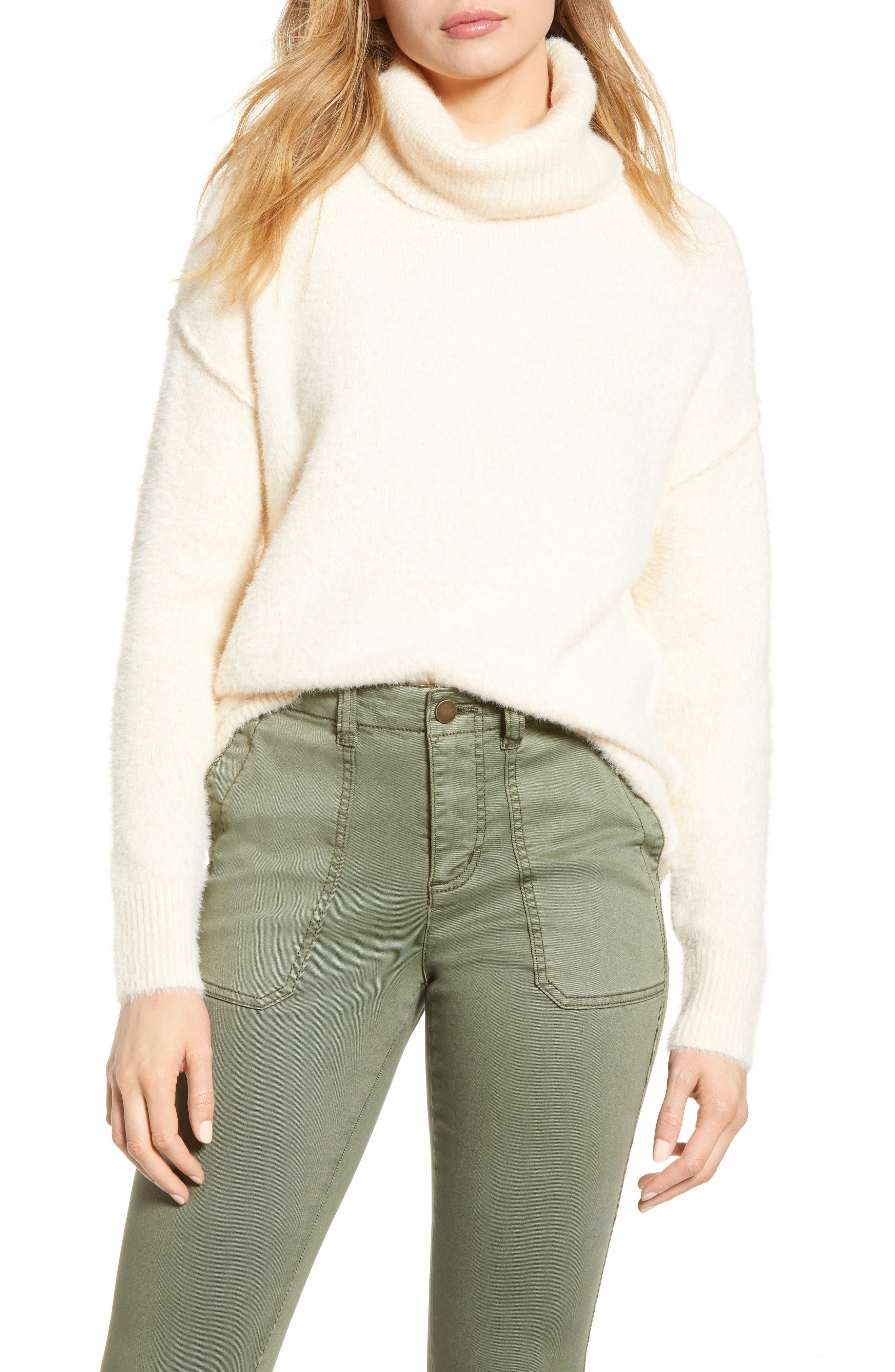Caslon® Turtleneck Sweater