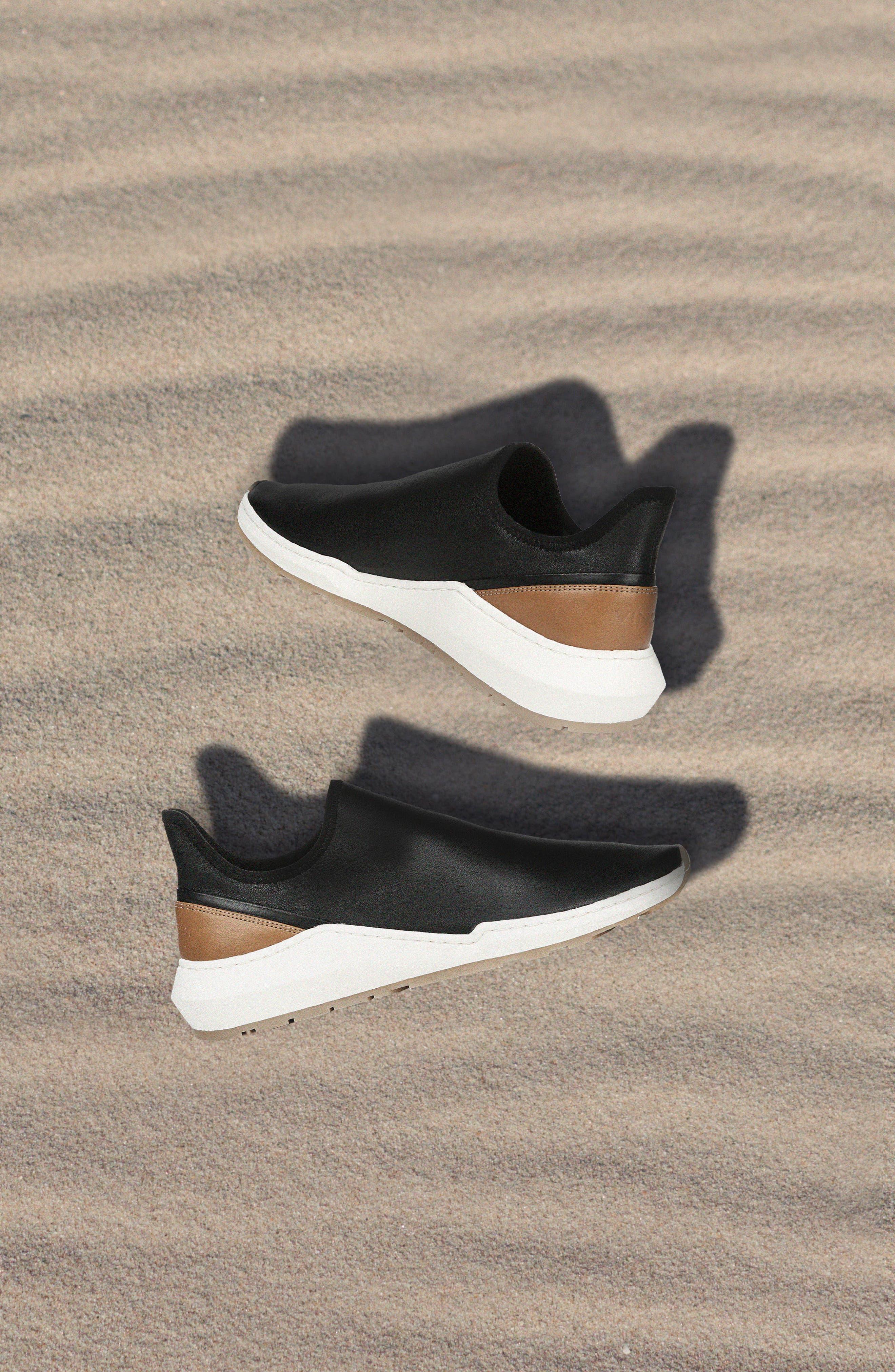 Vince   Marlon Leather Slip-On Sneaker