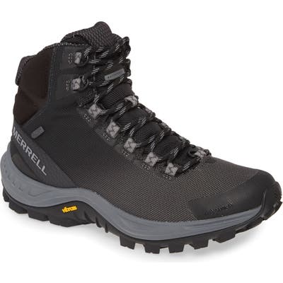Merrell Thermo Cross 2 Mid Waterproof Hiking Boot- Black