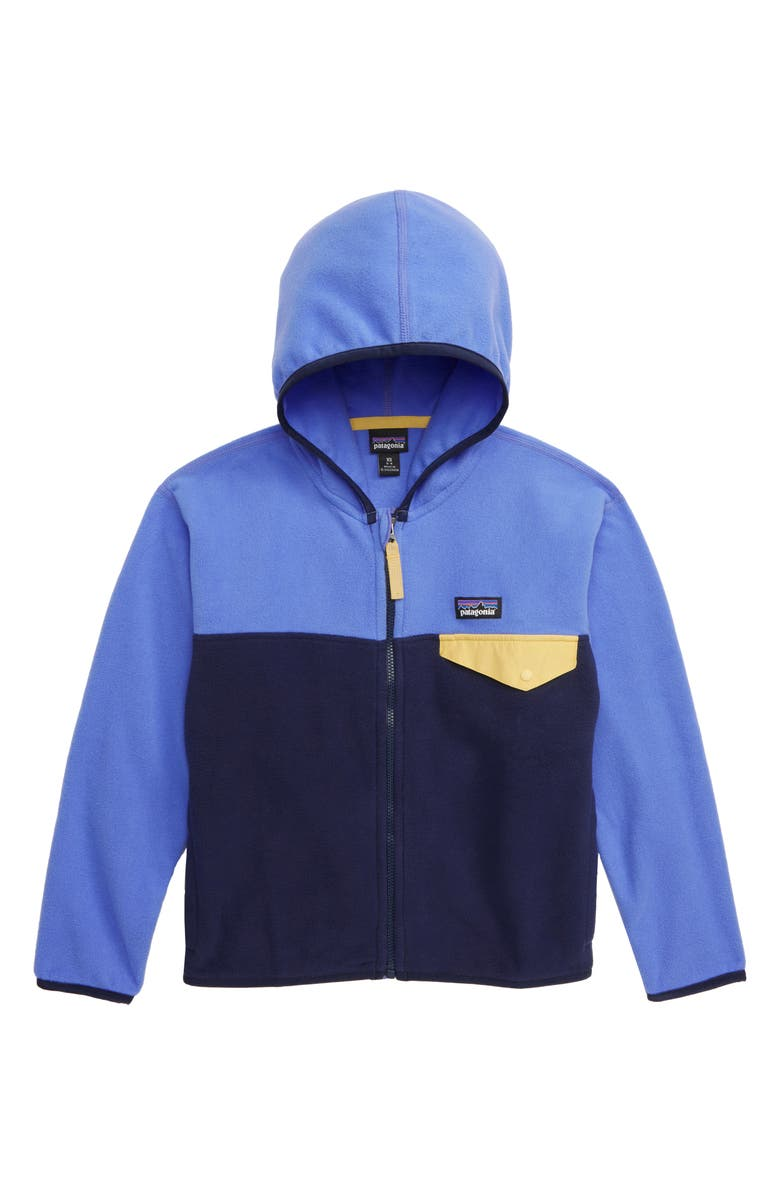 PATAGONIA Fleece Hooded Jacket, Main, color, 400