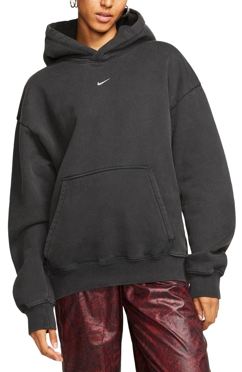 NIKE x Olivia Kim NRG Hooded Sweatshirt, Main, color, 010