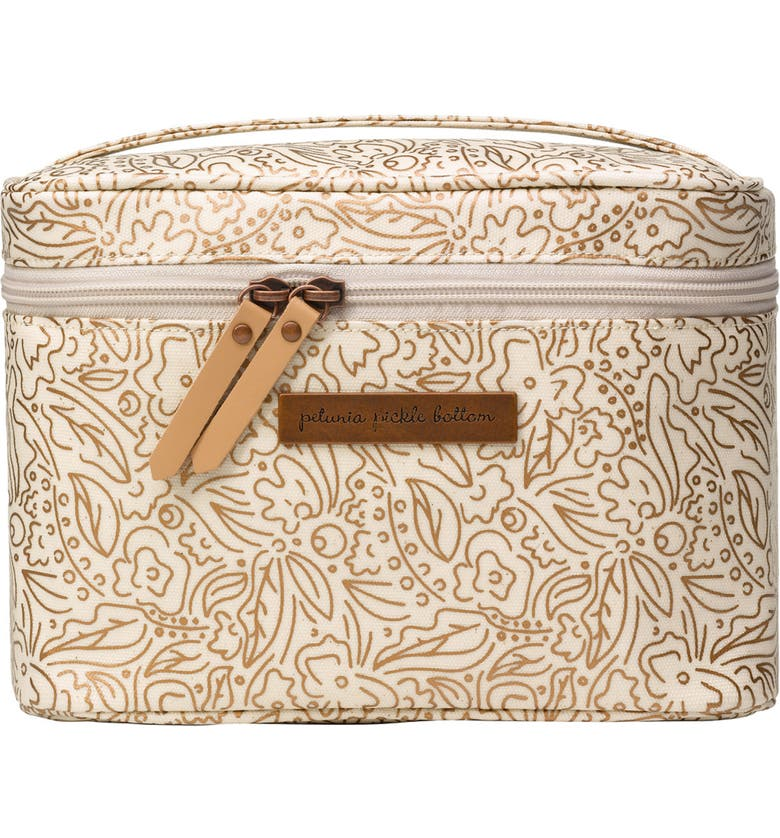 PETUNIA PICKLE BOTTOM Travel Train Case, Main, color, MUSES OF MATISSE