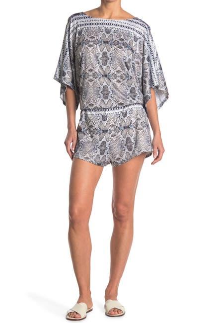 Image of RACHEL Rachel Roy Boho Python Print Kimono