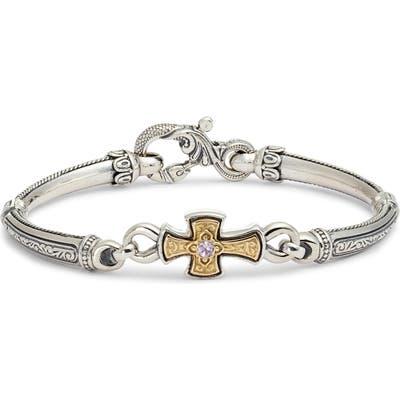 Konstantino Hermione Silver & Gold Bracelet