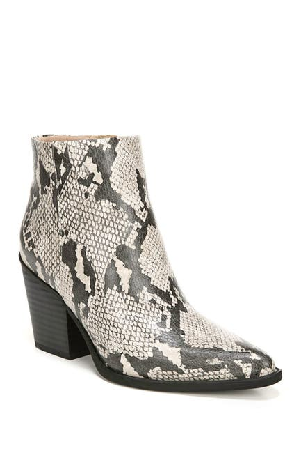 Image of SOUL Naturalizer Mikey Snake Embossed Mid Boot