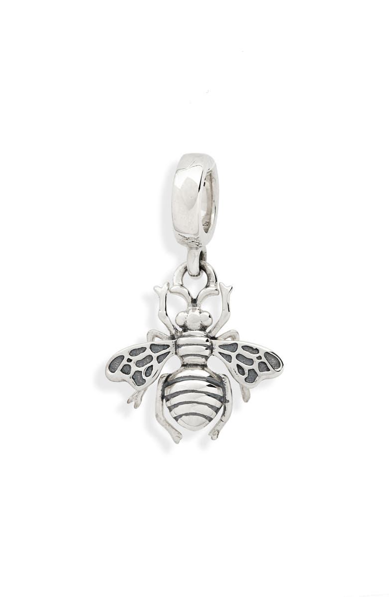 TOM WOOD Bee Charm, Main, color, 925 STERLING SILVER