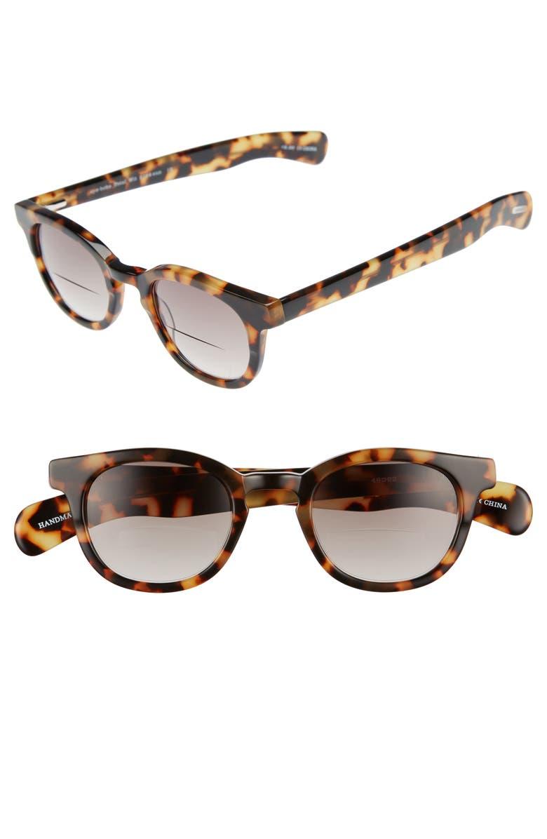 EYEBOBS Total Wit 46mm Sunreader Reading Glasses, Main, color, 242