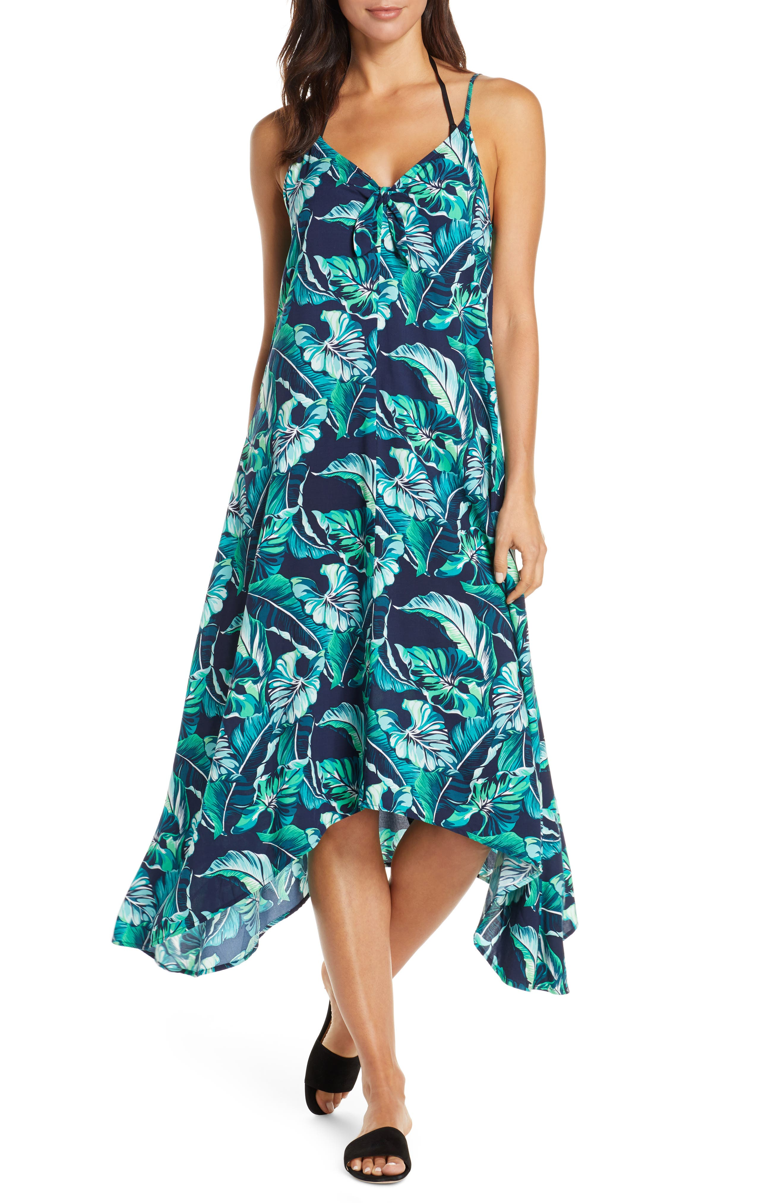 Tommy Bahama Breezy Palms Cover-Up, Blue