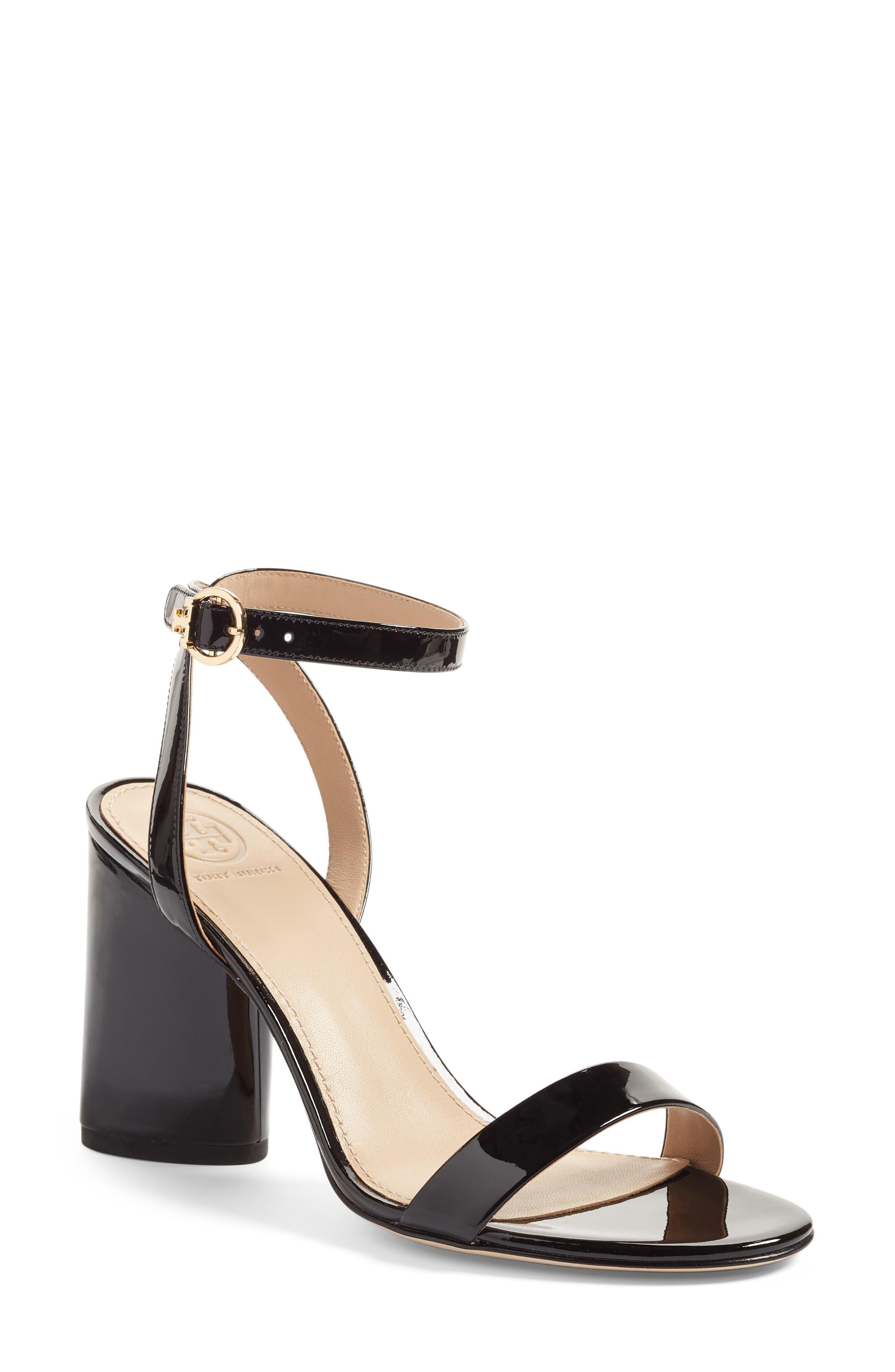 Elizabeth Block Heel Sandal, Main, color, 009