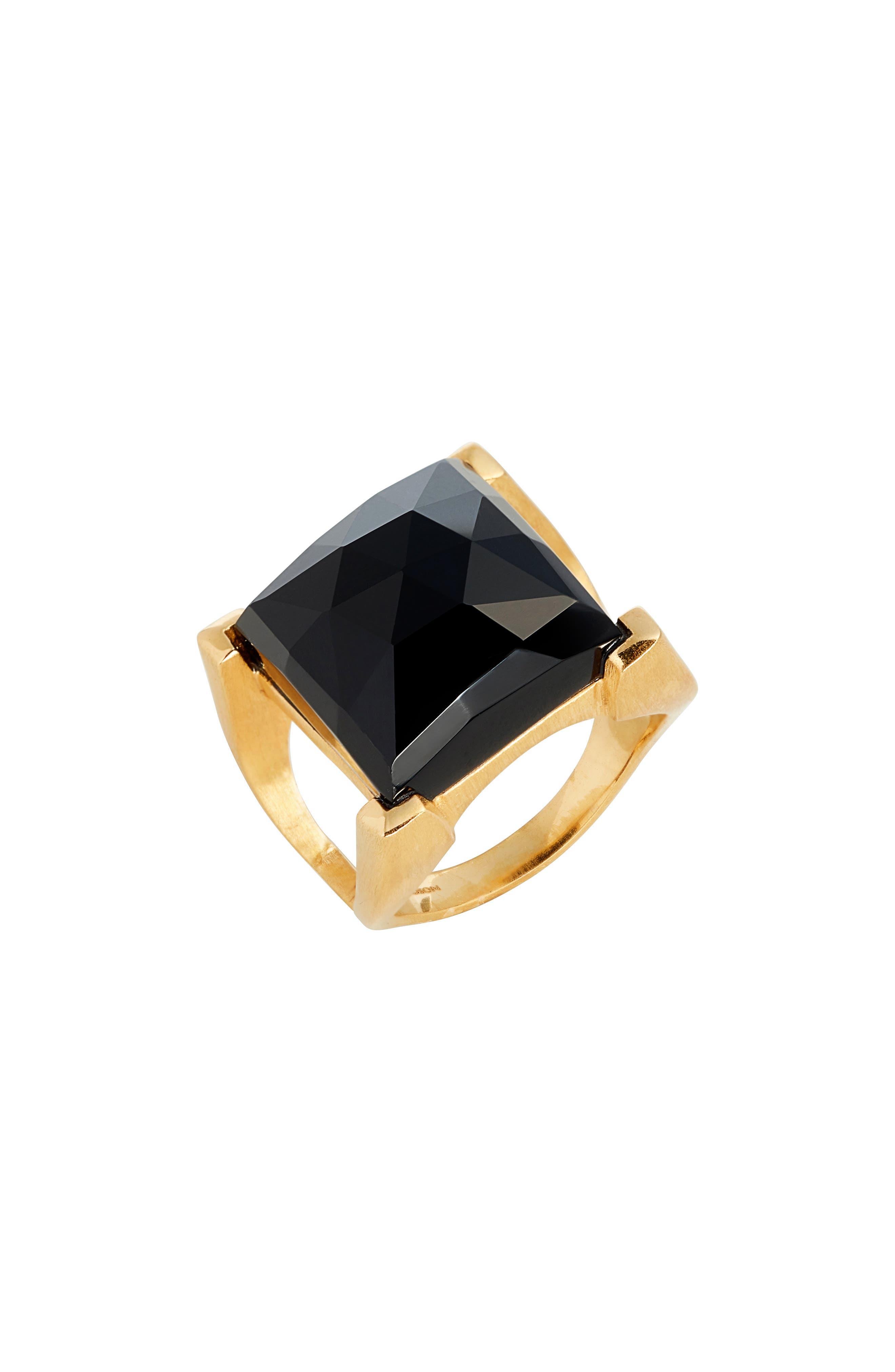 Semiprecious Stone Ring