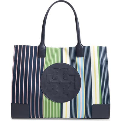 Tory Burch Ella Print Tote - Blue (Nordstrom Exclusive)