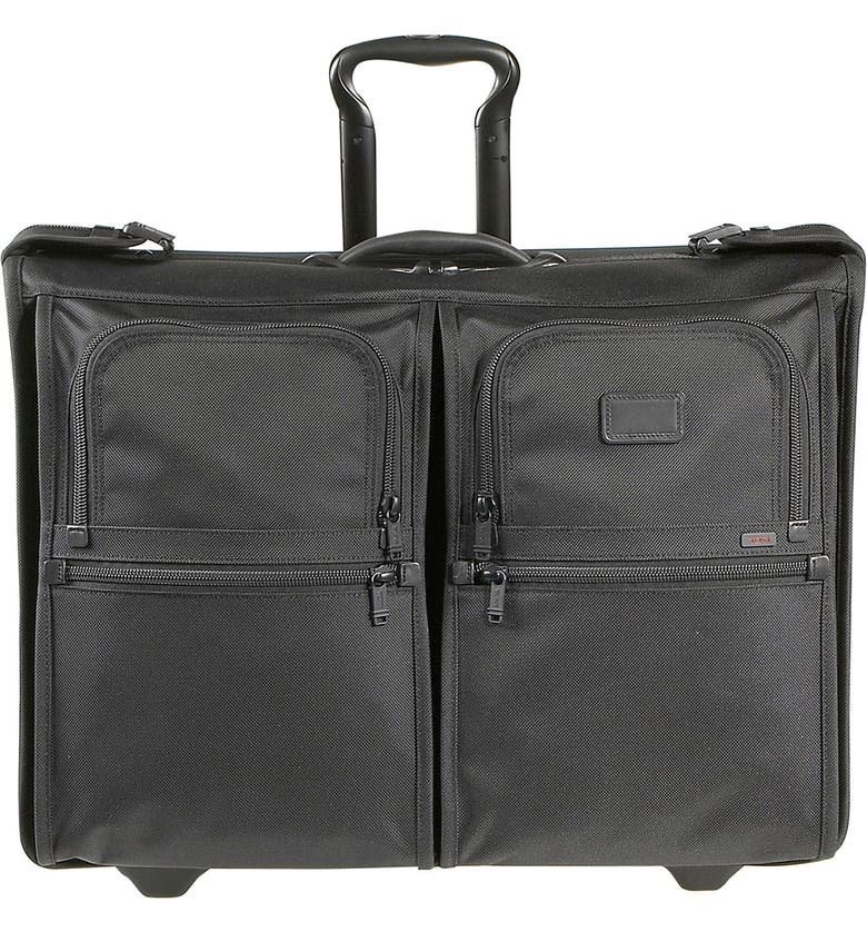 TUMI 'Alpha' Wheeled Garment Bag, Main, color, 001