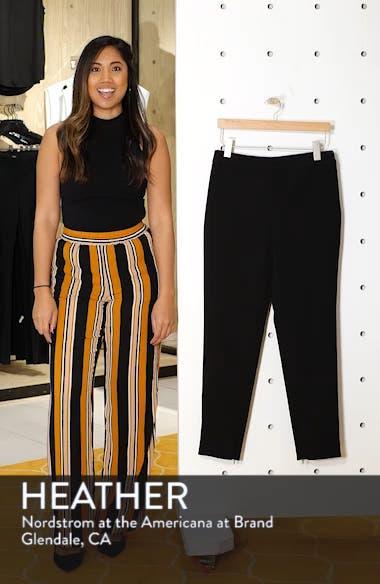 Bella Double Weave Skinny Pants, sales video thumbnail
