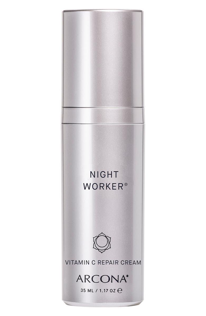 ARCONA Night Worker Cream, Main, color, NO COLOR