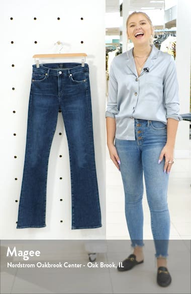 Citizen of Humanity Emanuelle Slim Bootcut Jeans, sales video thumbnail