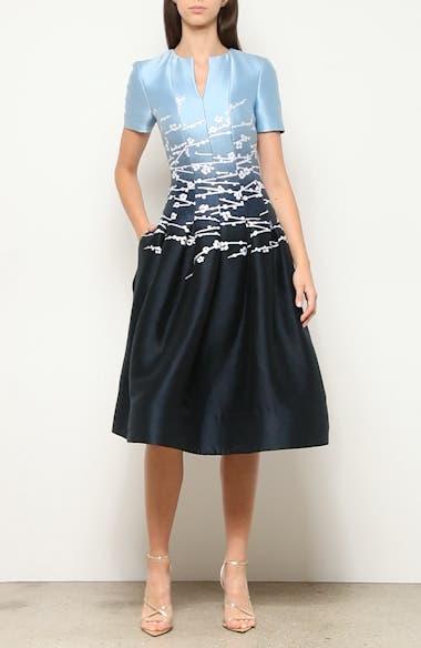 Jacquard Ombré A-Line Dress, video thumbnail