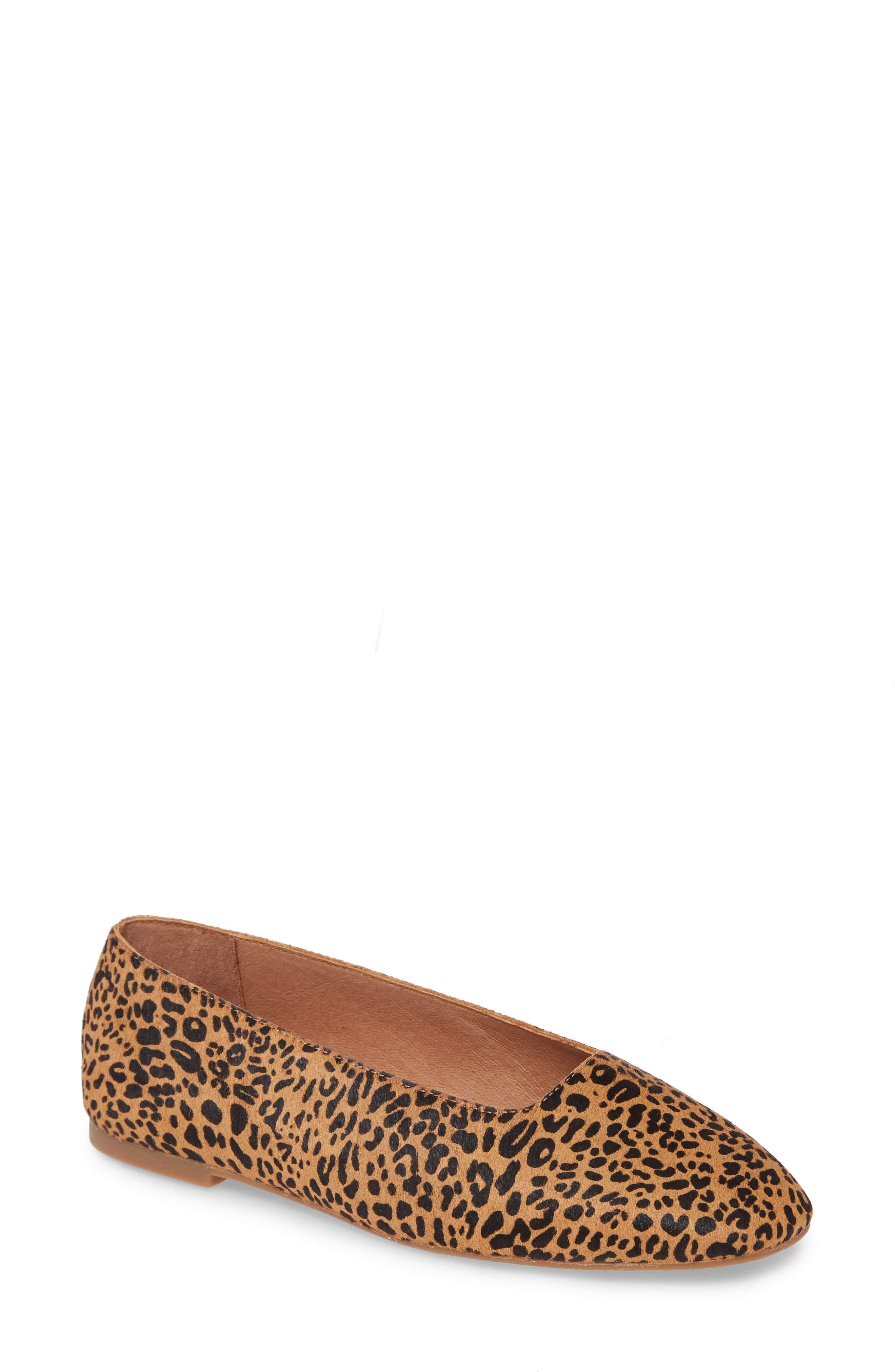 Cory Genuine Calf Hair Leopard Print