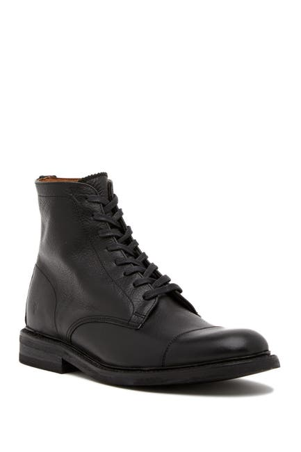 Image of Frye Seth Leather Lace-Up Boot