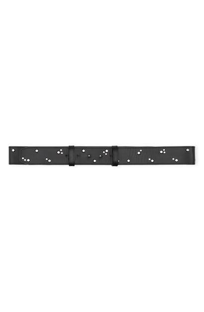 Ganni STUDDED LEATHER BELT