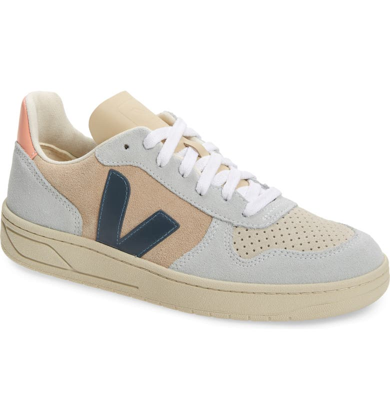 VEJA V-10 Sneaker, Main, color, MULTI/ ALMOND/ CALIFORNIA