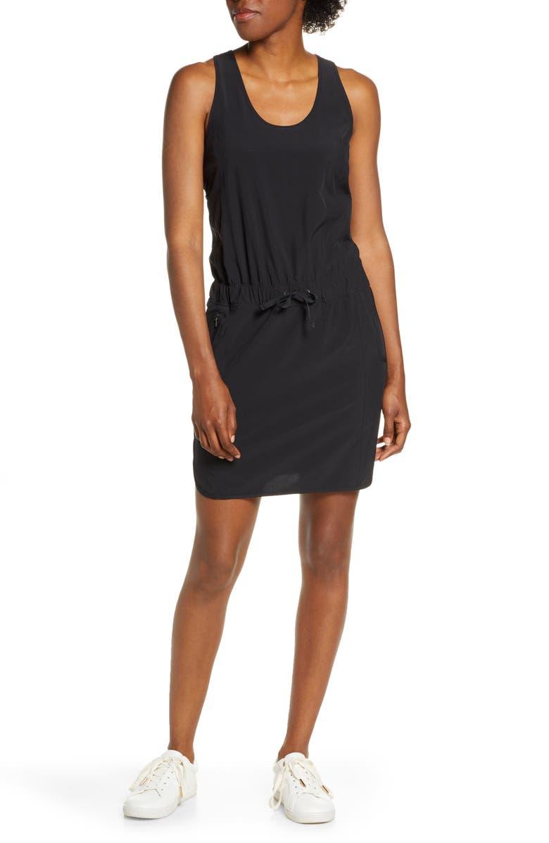 PATAGONIA Fleetwith Drawcord Dress, Main, color, 001