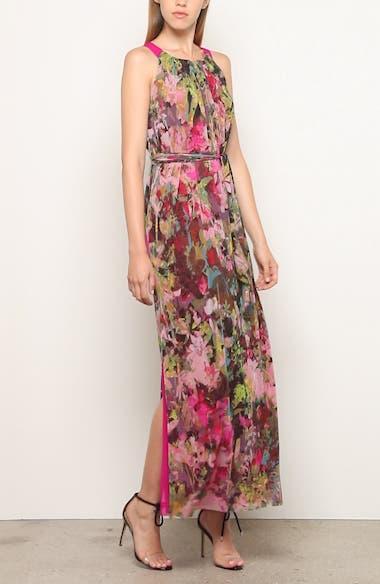 Floral Print Maxi Dress, video thumbnail