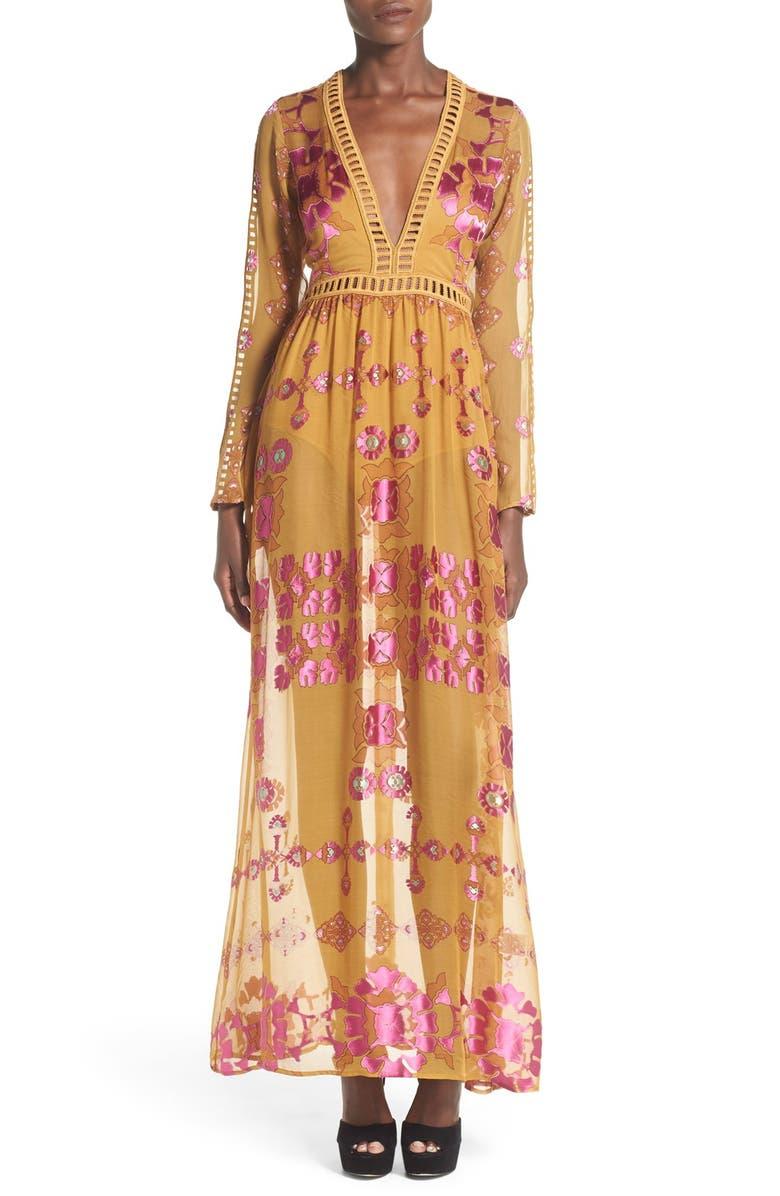 For Love Lemons Barcelona Maxi Dress Nordstrom