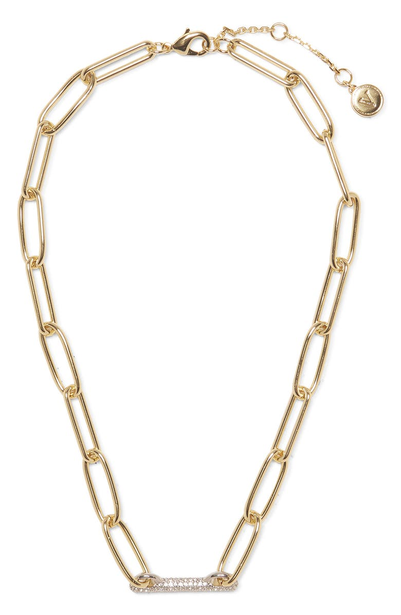 VINCE CAMUTO Link Necklace, Main, color, GOLD