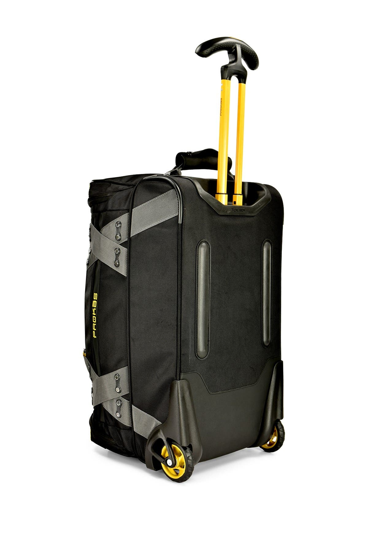 "Image of Traveler's Choice Luggage 22"" Prokas Rolling Duffel Bag"