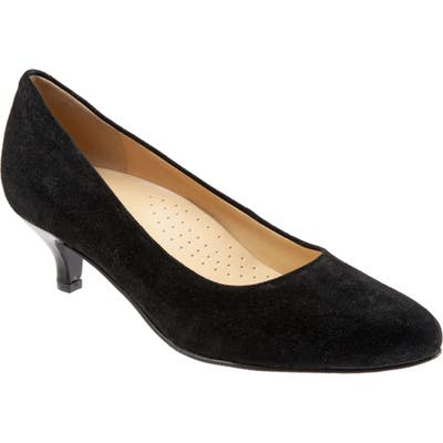 Trotters Kiera Pump, Black