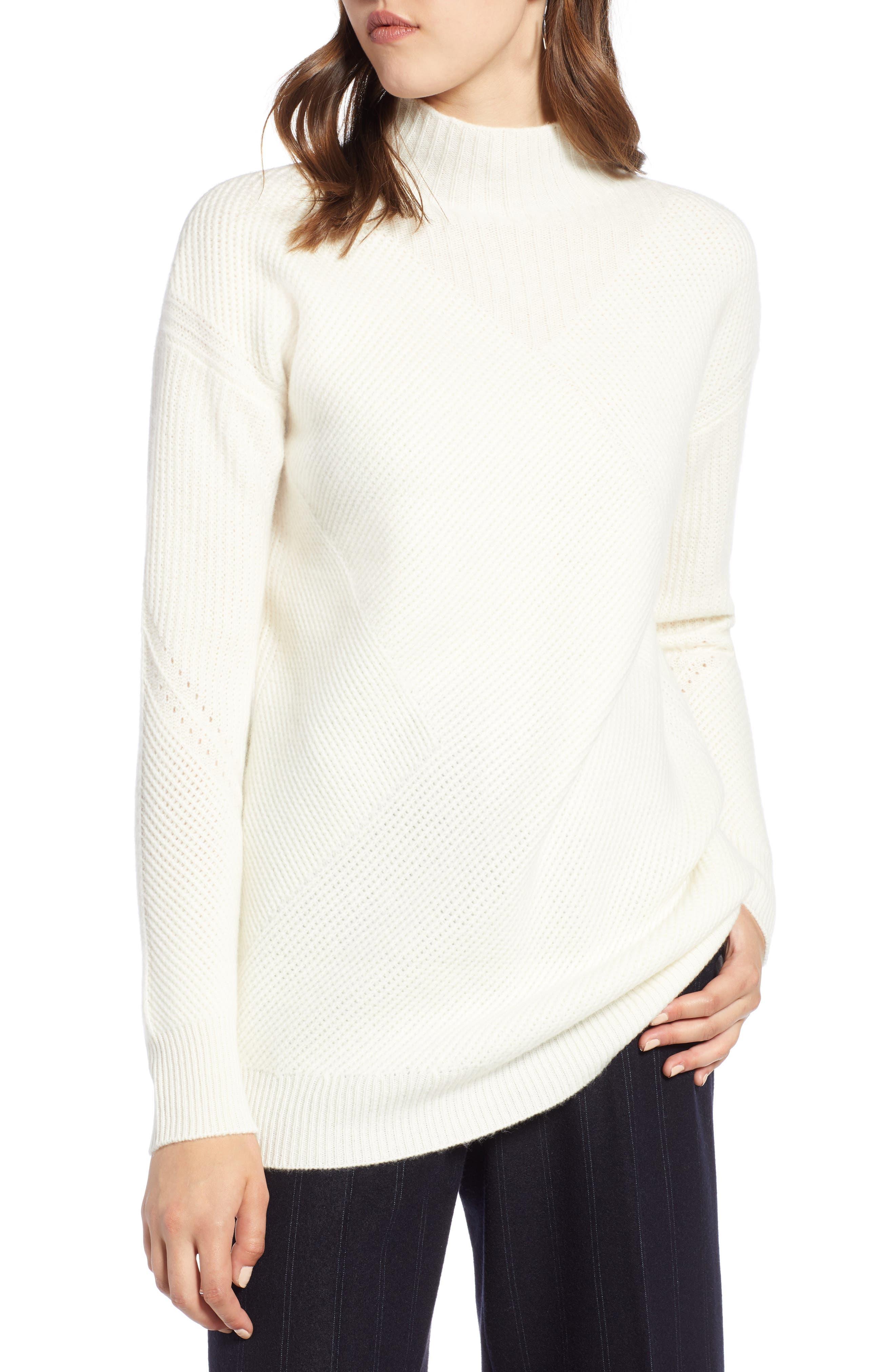 Halogen® Wool & Cashmere Sweater