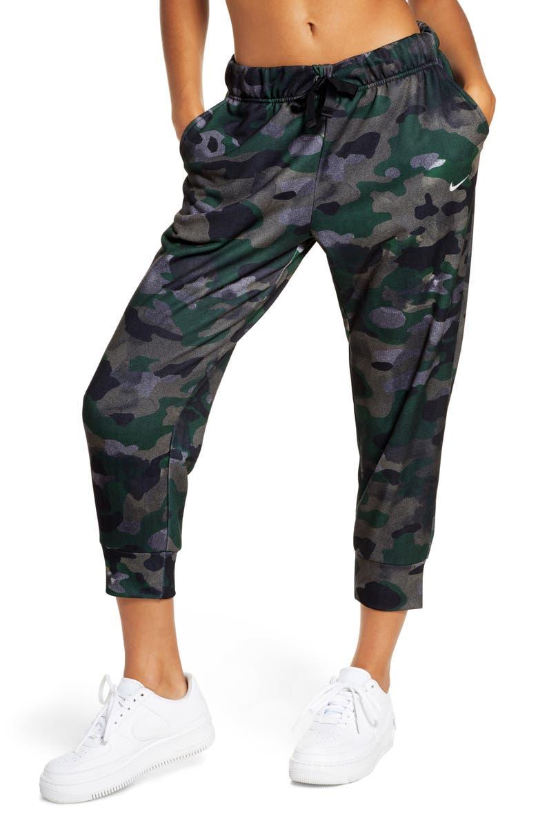 NIKE Rebel Icon Class Dri-FIT Fleece Training Pants, Main, color, CLUB GOLD/ BLACK