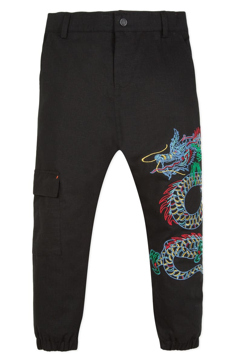 KENZO Dragon Jogger Pants, Main, color, 010