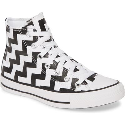Converse Chuck Taylor All Star Glam High Top Sneaker, White