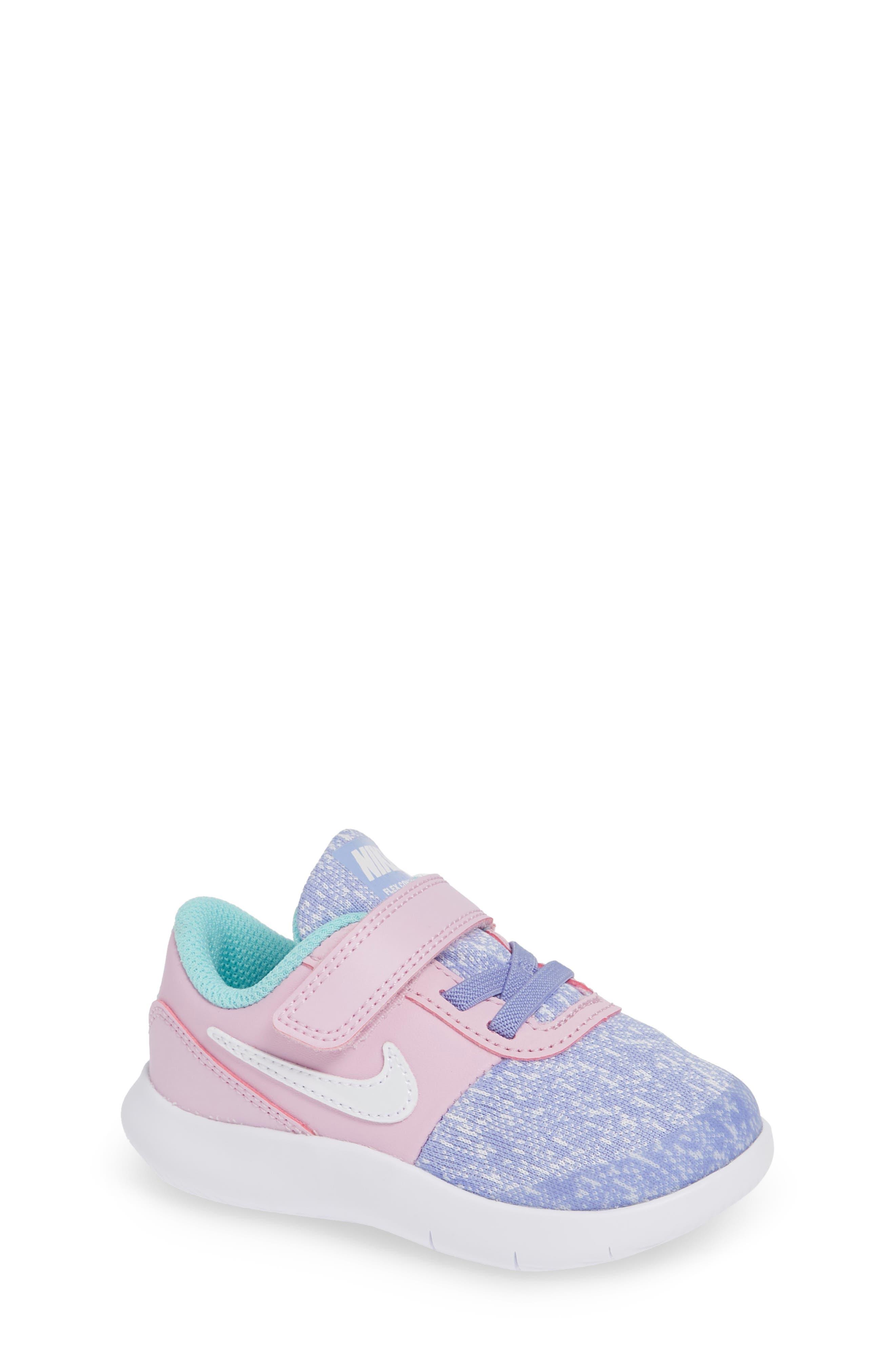 Nike Flex Contact Running Shoe (Baby