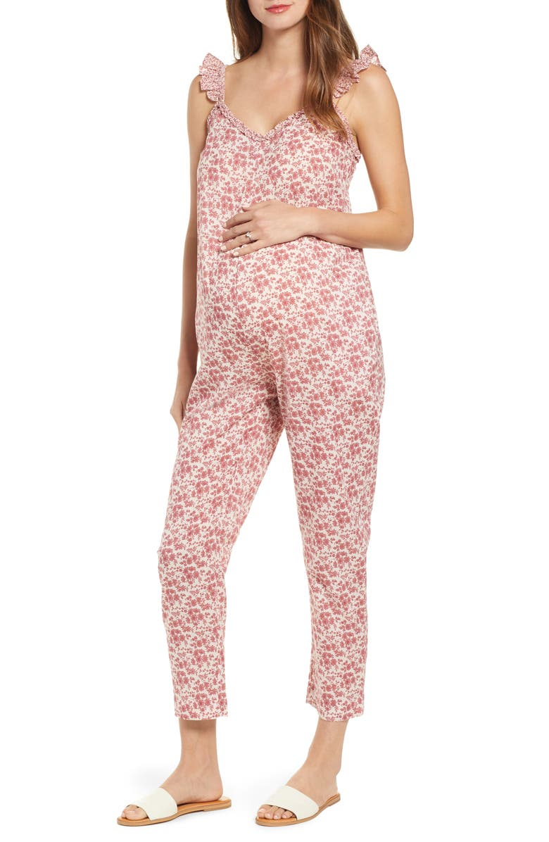 HATCH Lucy Jumpsuit, Main, color, JARDIN FLORAL