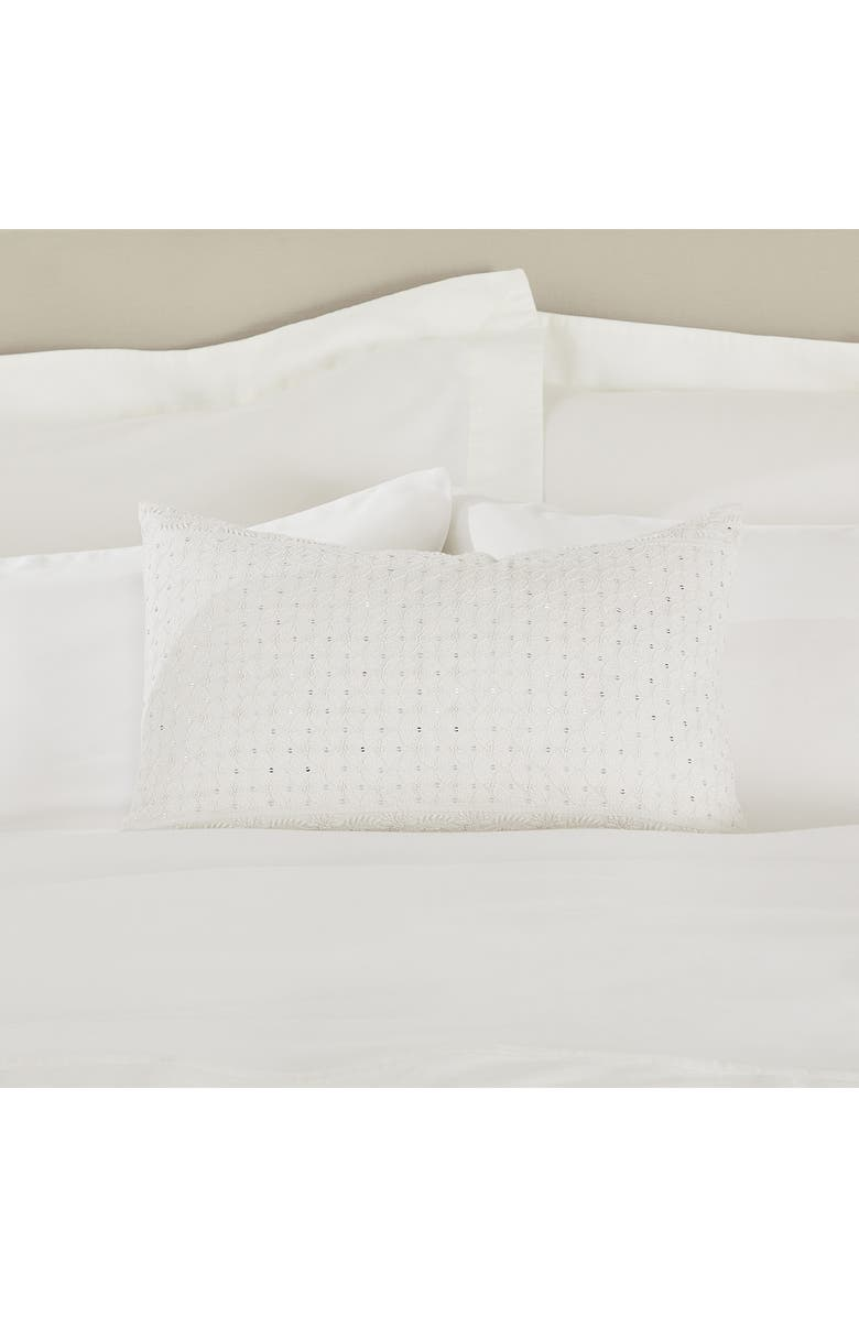 THE WHITE COMPANY Sienna Sequin Cushion Cover, Main, color, 100