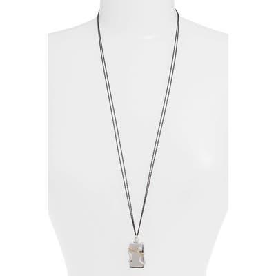 Monica Rich Kosann White Sapphire Snake Vesta Locket Necklace