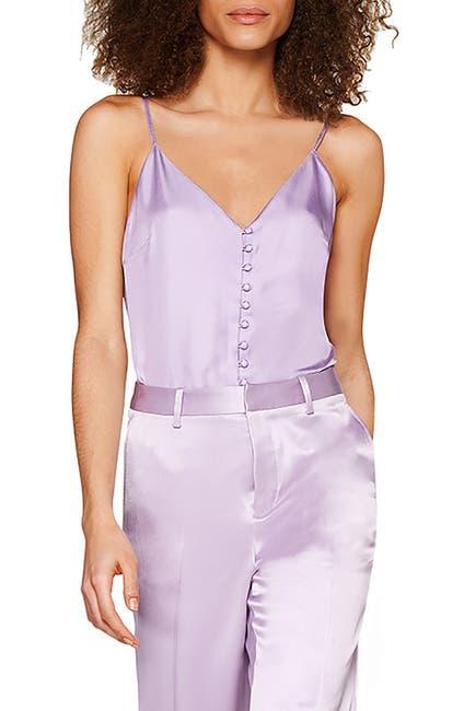 Image of SUISTUDIO Athens Silk Buttoned Camisole