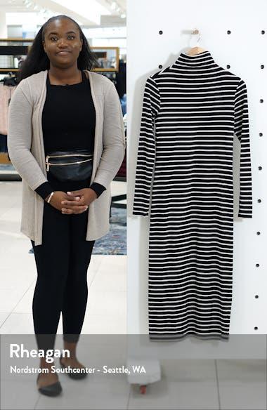 Chelden Long Sleeve Turtleneck Midi Dress, sales video thumbnail