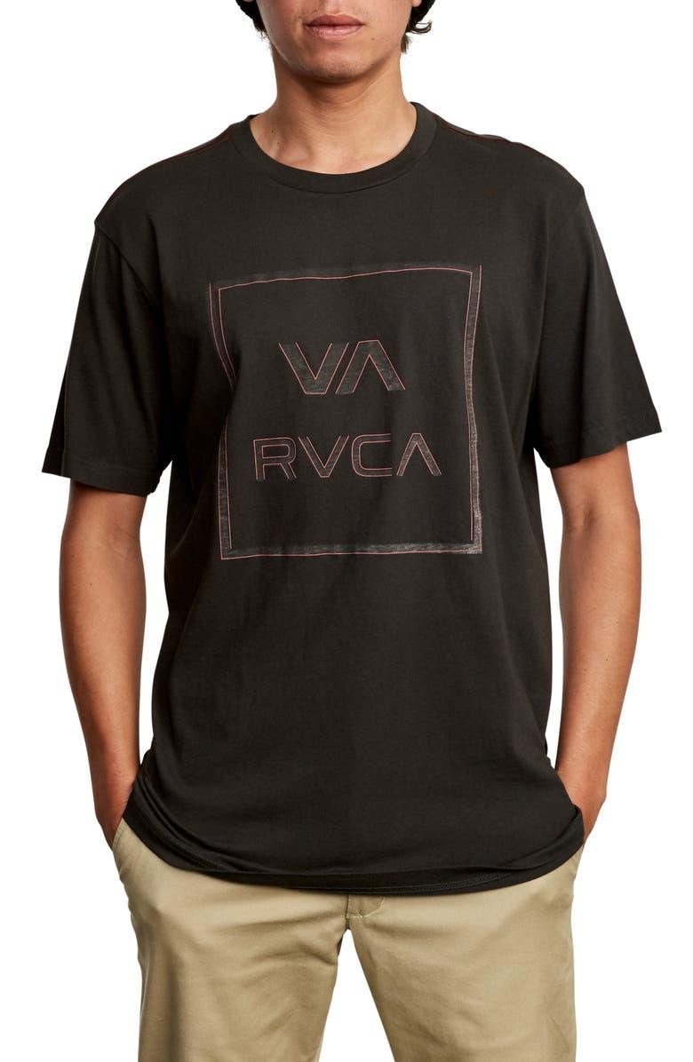 RVCA Unregistered Logo Graphic T-Shirt, Main, color, 008