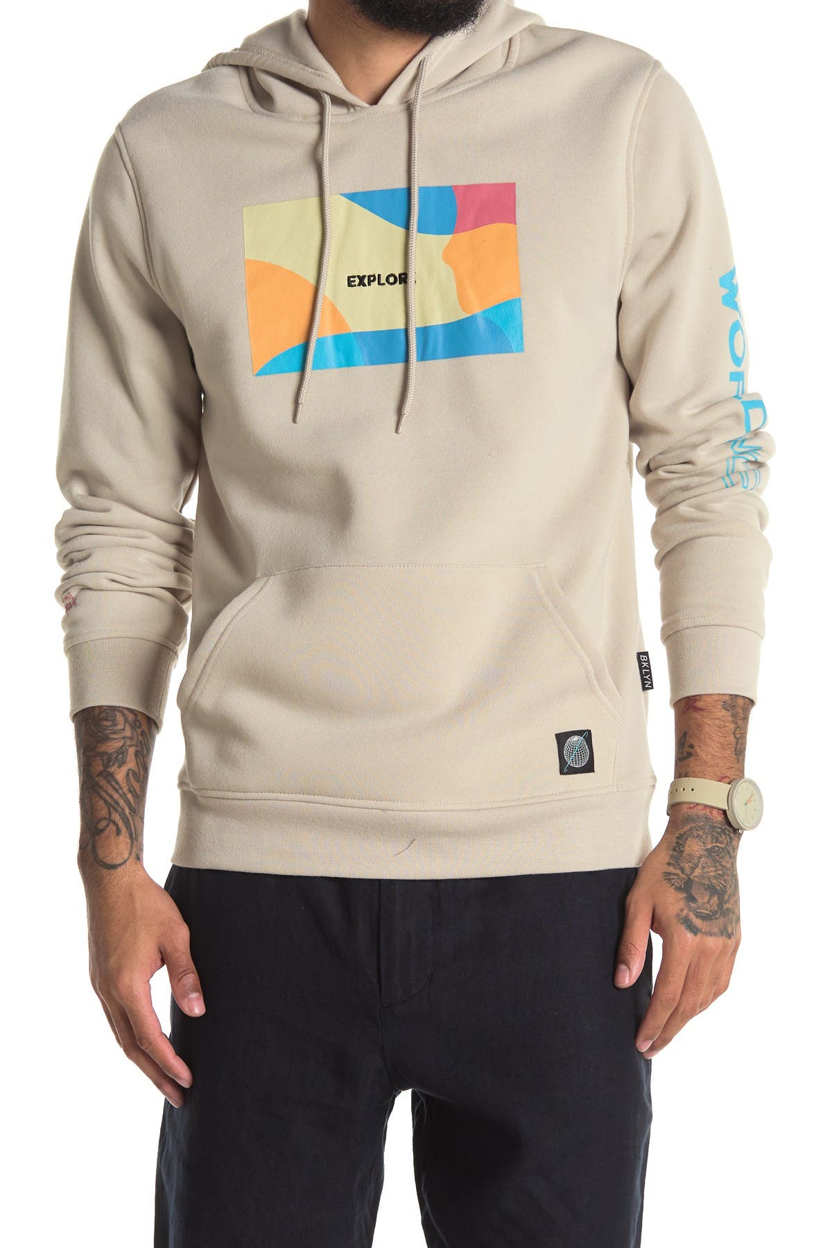 Image of The Narrows Explore 3D Embroidered Hoodie