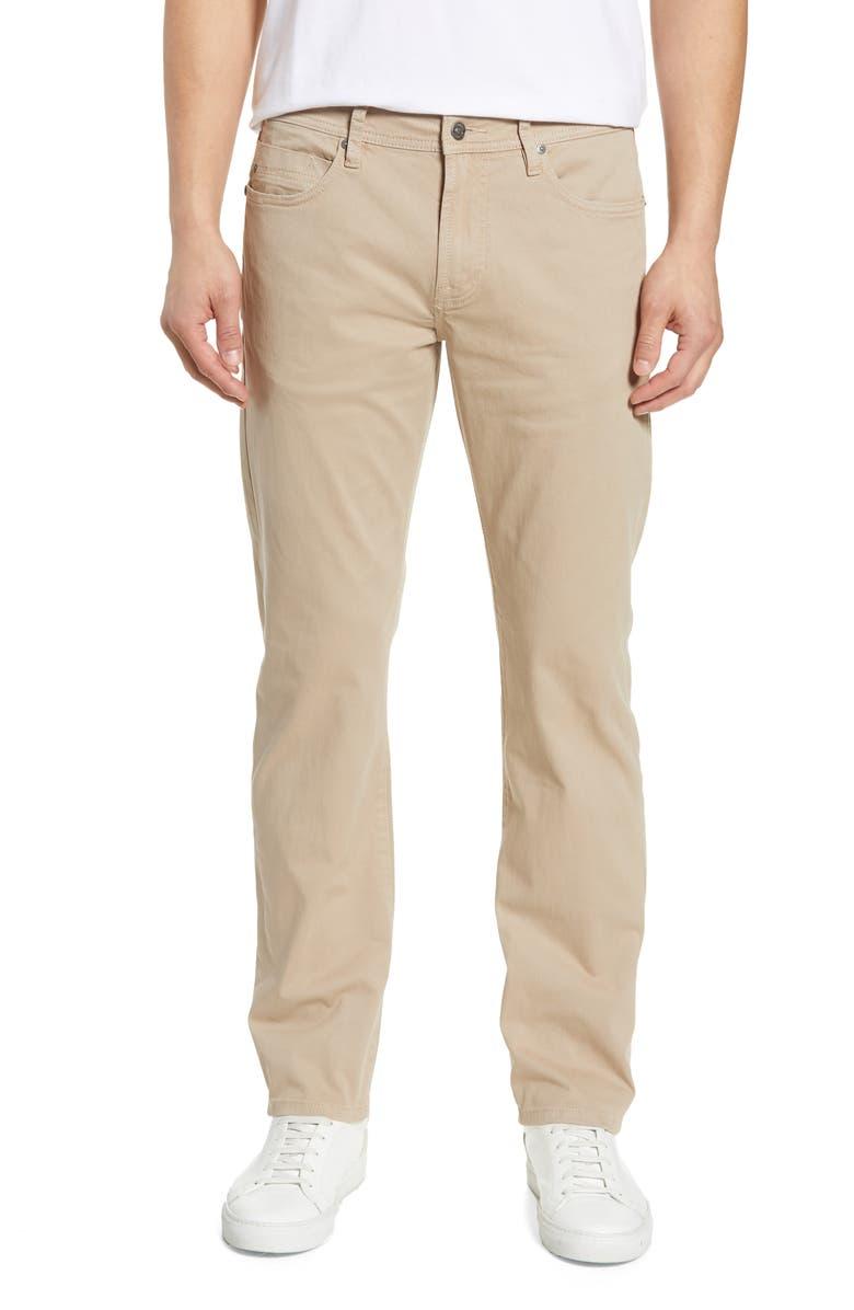 LIVERPOOL Regent Straight Leg Jeans, Main, color, DESERT KHAKI