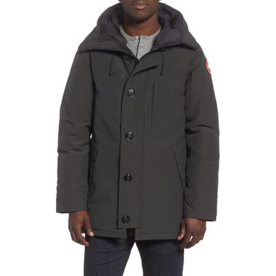 Canada Goose Chateau Slim Fit Down Parka, Grey