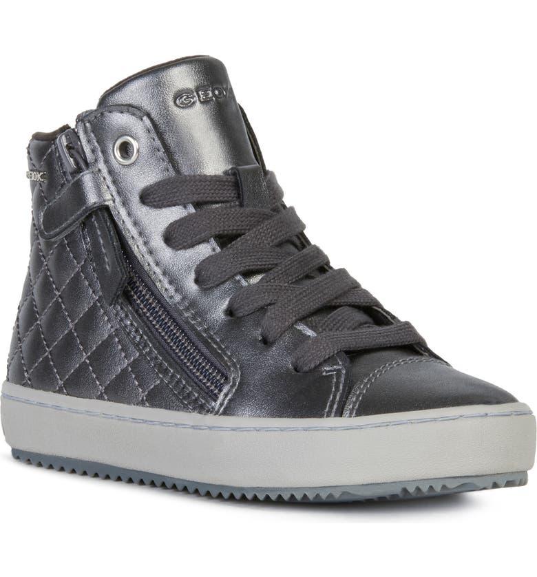GEOX Kalispera 20 Sneaker, Main, color, DARK GREY