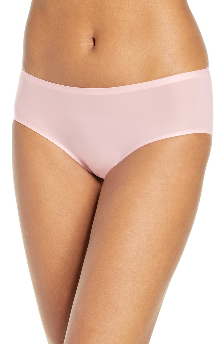 CHANTELLE LINGERIE Soft Stretch Seamless Hipster Panties, Main, color, ROSE TUTU